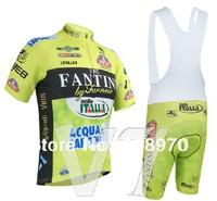 Free Shipping ! 2014 vini fantini Cycling Jersey short sleeve+bib shorts maillot ciclismo Clothing Men summer MTB