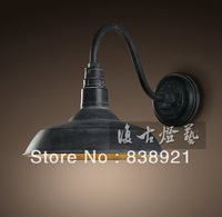 free shipping American loft wall lamp vintage wall lamp entranceway dining room wall lamp light bulb