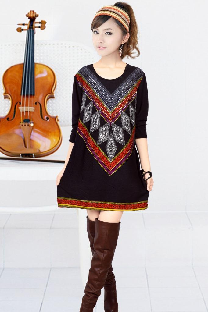 Women'S Plus Size Sweater Dresses 20