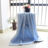Babygifts baby blankets baby blanket multifunctional 100% cotton baby blanket air layer baby blanket