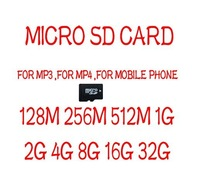 M-CARD-02 :1PC Memory card /Micro SD Card  128M 256M 512M 1G 2G 4G 8G 16G 32G For choose  Free shipping