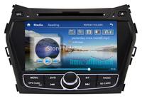 "8"" Car DVD Player for Hyundai IX45 / Santa fe 2013 Auto Stereo,Audio Video,GPS,Bluetooth,TV,Radio,3G,Free GPS Map,Free shipping"