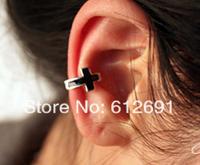 Fashion cross ear clip earrings U-type mini ear cuffs personality charms  jewelry 2015 new  LM-C119