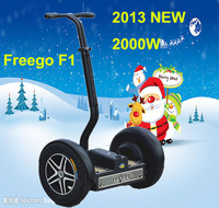 2013 Freego 2 Wheel Standing Self Balancing Kids Adult Electric Moped Scooter Personal Transporter F1 Strong Motor