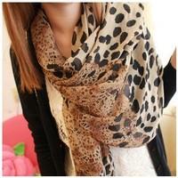 new 2013 fashion brand shawl women scarf winter warm infinity  vintage pashmina Leopard silk shawls scarves scarf  free shipping