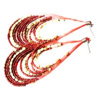 high quality earring women's jewelry fashion jewellery drop earrings for women free shipping bead  588