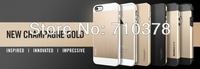 5pcs/lot  Luxurious NEW CHAMPAGNE GOLD Sgp Spigen mobile phone protective case for iphone 5g 5s free shpping