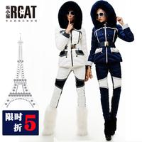 CLJ Europe station 2014 Nagymaros collar down jacket women short paragraph fashion new Rcat royal cat