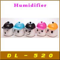 home appliance mini USB lovely houselet ultrasonic humidifier Air Purifier,Christmas Gift,20 pcs/lot Free shipping