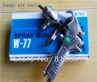 Freeshipping Anest Iwata manual paint spray gun W-77 for car furniture metal