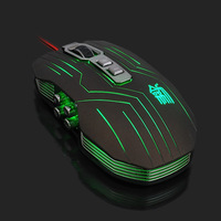 2014 NEW Suzaku Gaming mouse+800/1200/1600/2400 DPI +USB 3D Professional Competitive Gaming 9 Buttons Mice F-S044