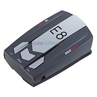 100% High Quality Car Radar Detectors Sho-me 525+ for Russian Countries Laser 360 Wholesale Free Shipping!