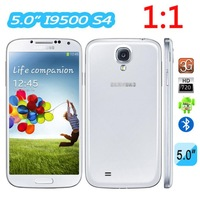 High Quality! MTK6515 1.2GHZ Core 1:1 GALAXY S4 I9500 SIV Android4.2 Jelly Bean GPS Wifi Dual Camera Unlock Smart Phone