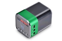 NEW Portable HIFI  Wireless Mini Bluetooth Speaker FOR Mobile/MP3/MP4/MP5/PC/laptop with alarm clock fm radio TT039