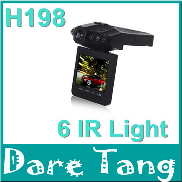 "Sell partes of CAR DVR H198 2.5"" Car Vehicle DVR Dash Cam 6 IR HD Night Vision Video Recorder Camera H198 P02C(China (Mainland))"