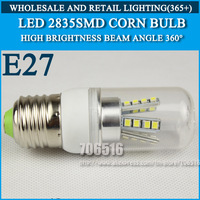10PCS High brightness led bulb lamp Lights Corn Bulb E27 3W 4W 5W 7W 9W 2835SMD 360 degrees Cold white/warm white AC220V