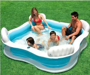 freeshipping Intex56475 swimming pool with pump inflatable swimming pool inflatable pool belt kaozhen 229 66cm(China (Mainland))