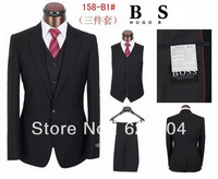 2013 handmade good quality brand businesstwo or three pieces suits with suit&pants&vest