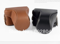 Wholesale!Noble camera bag cover bag Genuine Leather case for sony RX1 RX1R camera case leather bag Free shipping