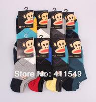 (L&C)cotton classic drape man socks Lace, dot  men sock , wool sock (16pcs=8pairs) /lot, mix color  socks  fit 39-44 size13-028
