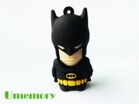 Hot Real capacity 4GB 8GB 16GB 32GB Cartoon Batman USB Flash Drive Pendrive Memory Stick USB Creativo as gift free fast shipping