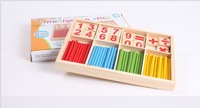 Wood Education Toys Montessori Math Spindle Toy-Digital Computation Box mathematics educational tools good toy for math learning