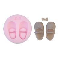 New Soft Silicone Cake Mold Fondant Decorating Shoe Shape Soap Mold 3817#