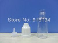 Wholesale Factory outlets -- 200pcs 10ML PET Eye Dropper Bottle with  dropper tip  childproof caps