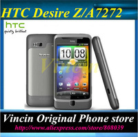 "Lowest price Original HTC Desire Z A7272 Cell phone 3.7"" Touch Screen GPS WIFI Camera 5MP Free Shipping Refurbished"