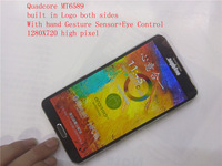 Perfect 1:1 Black Ver  1280x720   Note 3  GT9000  Quadcore+8MegaCam, 1GB ram with Sensor Control