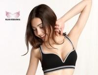Big discount Free shipping Sexy Seamless sports padded Ahh / Genie sport leisure Push Up Bra 60PCS / lot 267usd