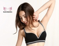 Big discount Free shipping Sexy Seamless sports padded Ahh / Genie sport leisure Push Up Bra 60PCS / lot 267usd