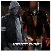 Prototype Alex Mercer Cosplay Costume Hoodie Coat Jacket Shirt Men's Jacket