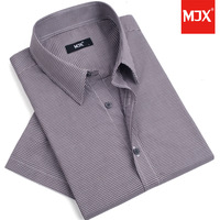 Free Shipping!!Mjx2014 Summer 100% Cotton Men's Fashion Cotton Casual Clothing Short-Sleeve Shirt