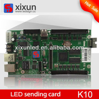 LED receiving card used in the full color led display asynchronous controller system for large outdoor led advertising screen