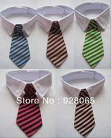 Hot sales Min 1pcs pet supplies pet dog tie wedding accessories dog black bowtie Collar pet holiday decoration 5 Colors