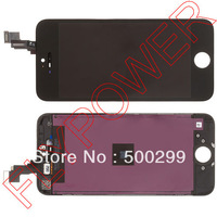 For iPhone 5s LCD Screen Display with Touch Screen Digitizer +frame Assembly by free shipping; white; 100% original