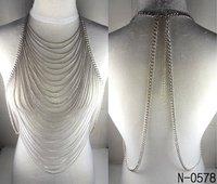 New Fashion L&L Jewelry ,Sexy fringed waist body chain for sexy women