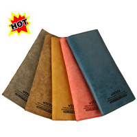 The latest design ladies leather wallet style retro two-fold fashion a variety of colors
