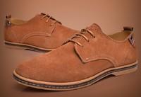 Free shipping Men's casual shoes men's suede leather shoes leather shoes brand shoes wholesale