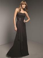 Sexy Strapless Off the Shoulder Delicate beaded High Waist Long Evening Dress vestido de festa Party Dresses Evening Dresses