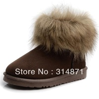Free shipping!!! New Snow boots 2013 round toe the young short plush women's shoes boots snow boot