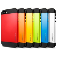 SGP Slim Armor Case for iPhone 5 for iPhone 5s, SPIGEN SGP Brand Cases , Luxury Phone Back Cover for iPhone 5