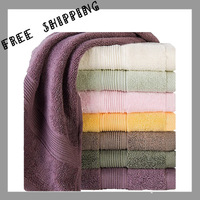 [TOWEL] 34*80 cm 100g 7 Color Washcloth Face Towel Household Products Antimicrobial Absorbent Cotton Soft Benefit Face Towels