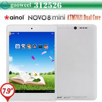 Original Ainol Novo8 mini tablet  7.85 inch ATM7021 Dual Core Dual camera WIFI HDMI OTG 512MB/8GB