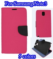 Cover case for Samsung Galaxy Note3 note 3 iii N9000 PU Leather cases back cover skin covers 2013 new Free shipping LF201