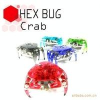 Free shipping Hex Bug light sensor/sound sensor crab electronic pet 5 color