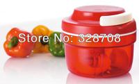 100sets/lot Kitchen Manual Twist Chopper multifunctional hand vegetable/fruit Speedy Chopper POWER FREE