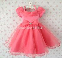 Children Party Dress Girls Big Bow Ball Gown Children Flower Girl Dresses For Prom Princess Clothes  Girls Flower Girl Dresses