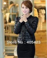 2014 women autumn winter fashion cotton coats parkas cotton-padded down jackets,free shipping